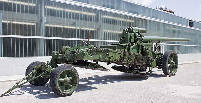 Cannone atomico Museo De Henriquez - Foto Peter Deschmann