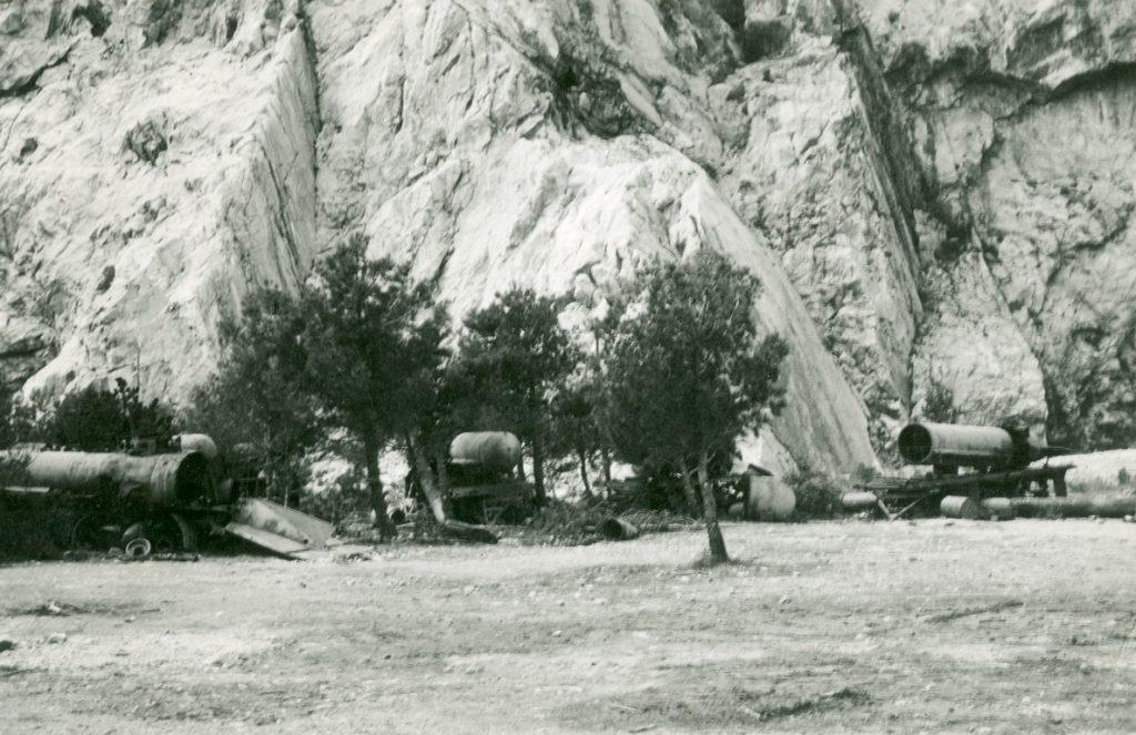 Fotografie scattate da Diego de Henriquez a Sistiana tra il 7 e l'11 agosto 1945